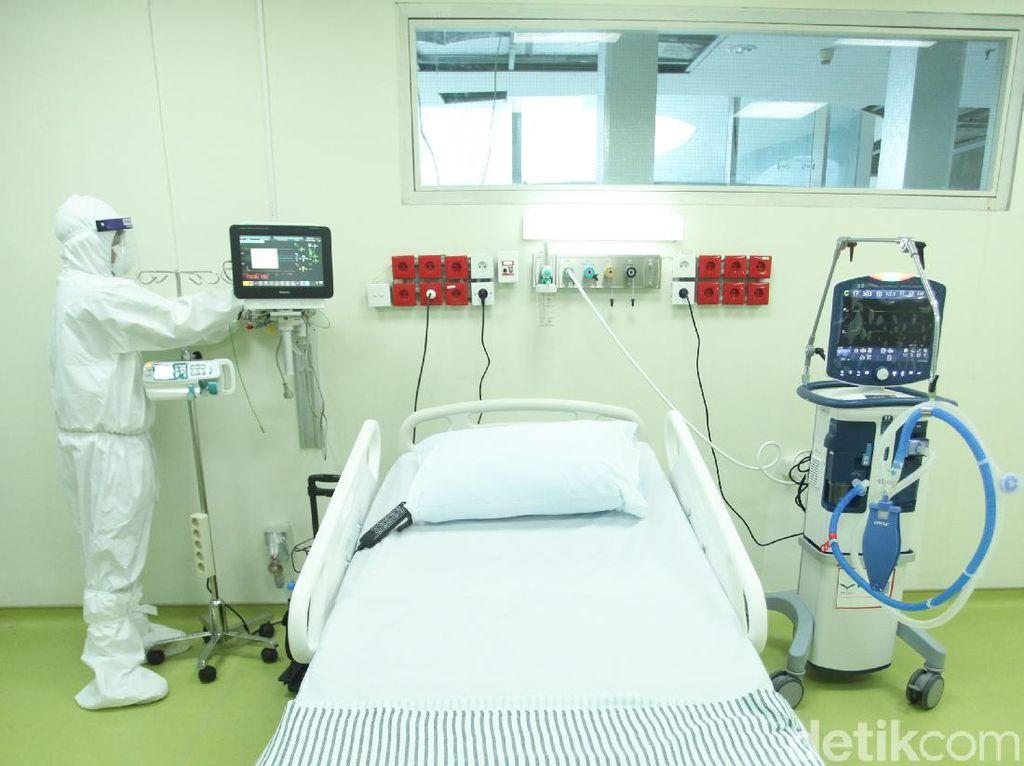 Tempat Tidur Isolasi Pasien Corona di DKI 23 September Terisi 81%
