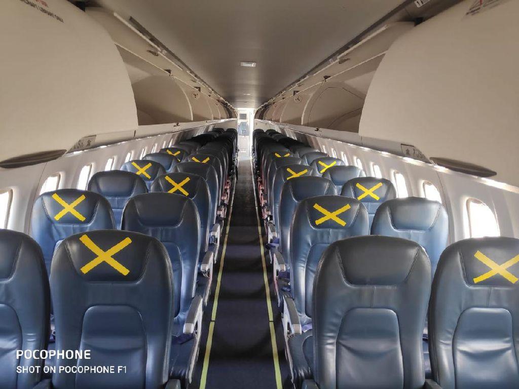Lion Air Terapkan Sistem Jarak Aman di Kursi Pesawat