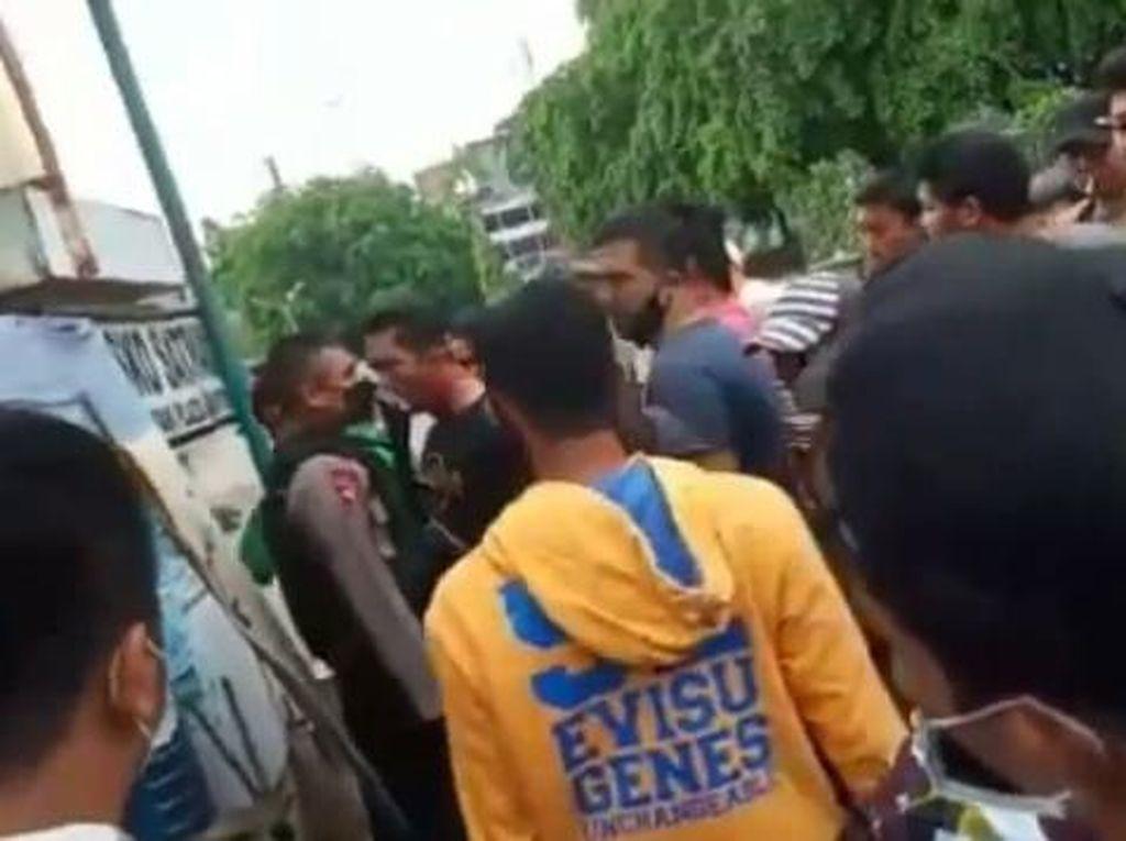 Duduk Perkara Brimob Diteriaki di Medan Berujung Wajib Lapor