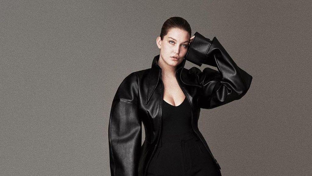 Foto: Cantiknya Model Plus-size yang Disebut Kembaran Gigi Hadid