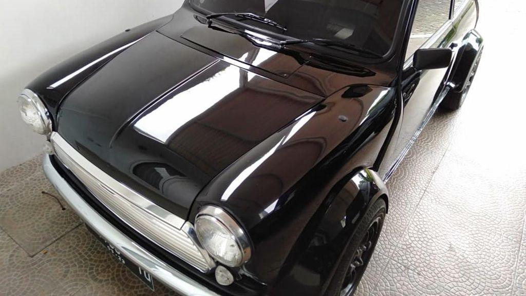Potret Toyota Agya Bertransformasi Jadi MINI Cooper Klasik