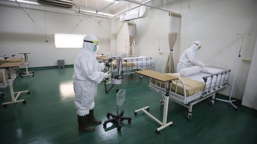 210 Bed Isolasi untuk Pasien COVID-19
