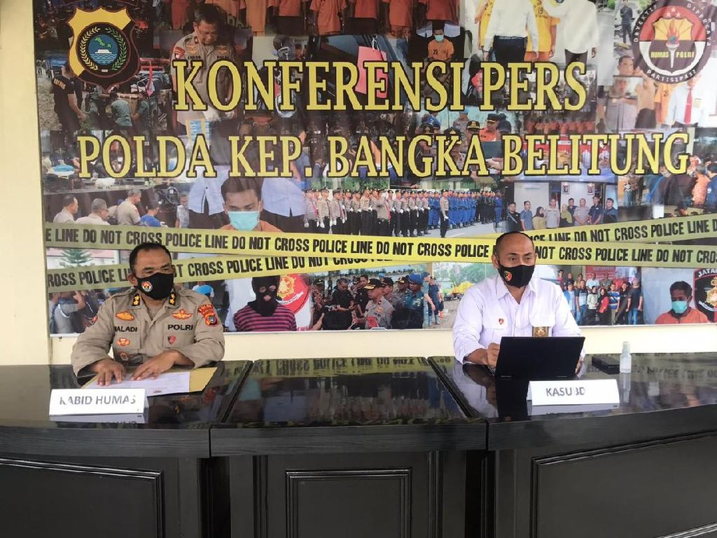 2 Oknum Polisi Polda Babel yang Curi Senjata Dinas Ditetapkan Jadi Tersangka