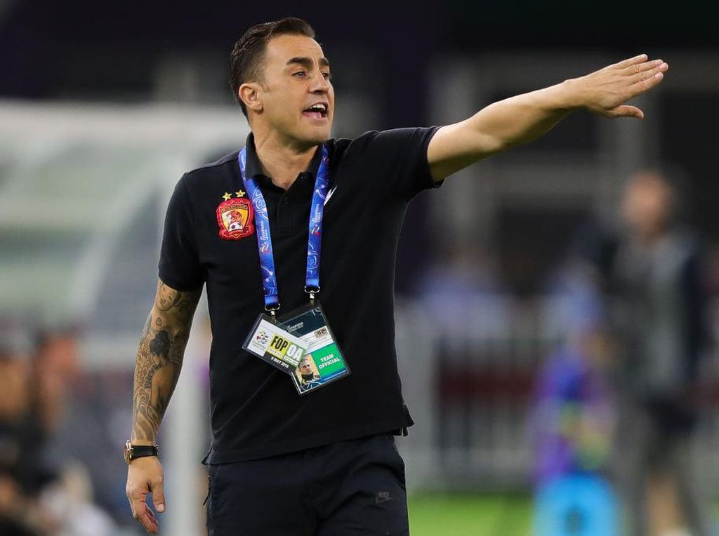 Cannavaro Bermimpi Bisa Latih Madrid