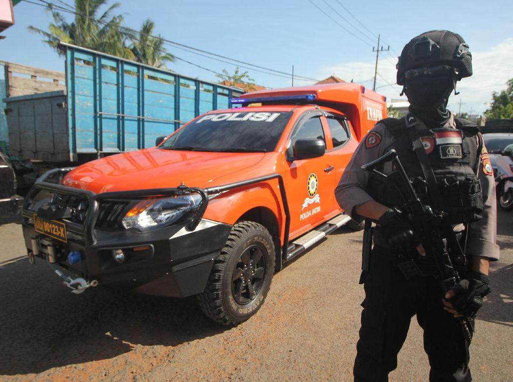 Rentetan Penangkapan Terduga Teroris di RI dalam Sepekan