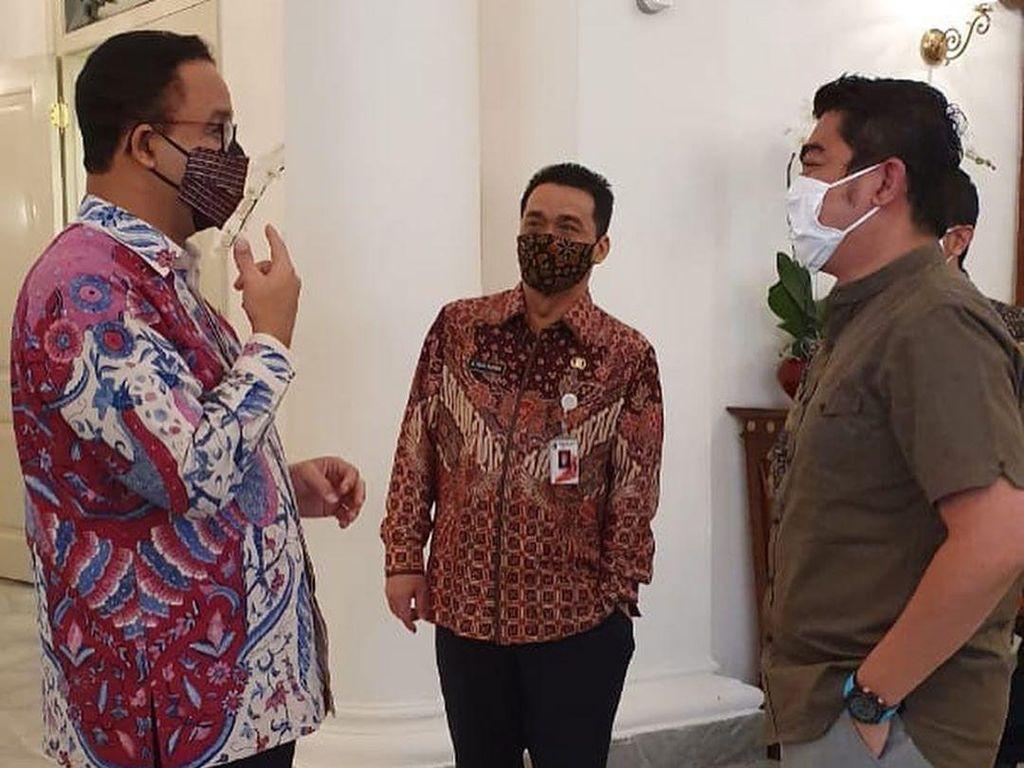 Temui Anies, Ustaz Solmed Cerita Kondisi Miris Warga Saat Pandemi Corona