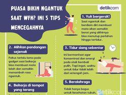 5 Tips Agar Tak Mengantuk Saat WFH dan Berpuasa