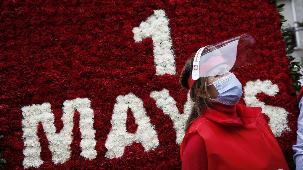Suasana May Day di Berbagai Negara Saat Pandemi Corona