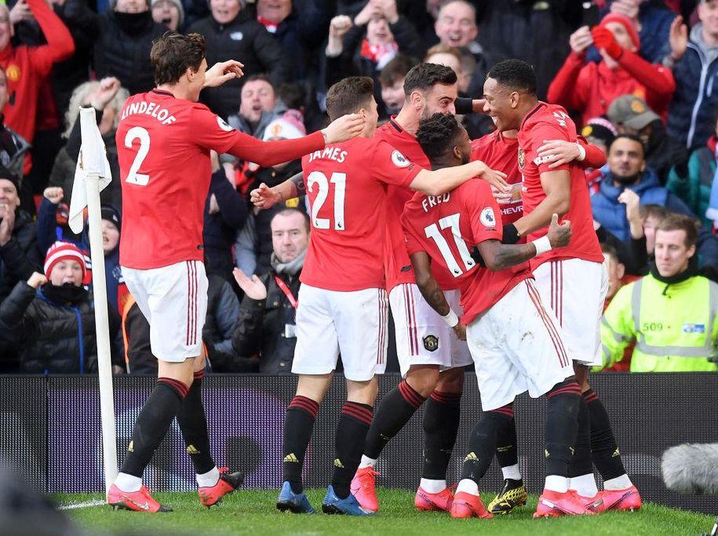 Man United Jadi Tim Inggris yang Pemainnya Paling Cuan di Instagram