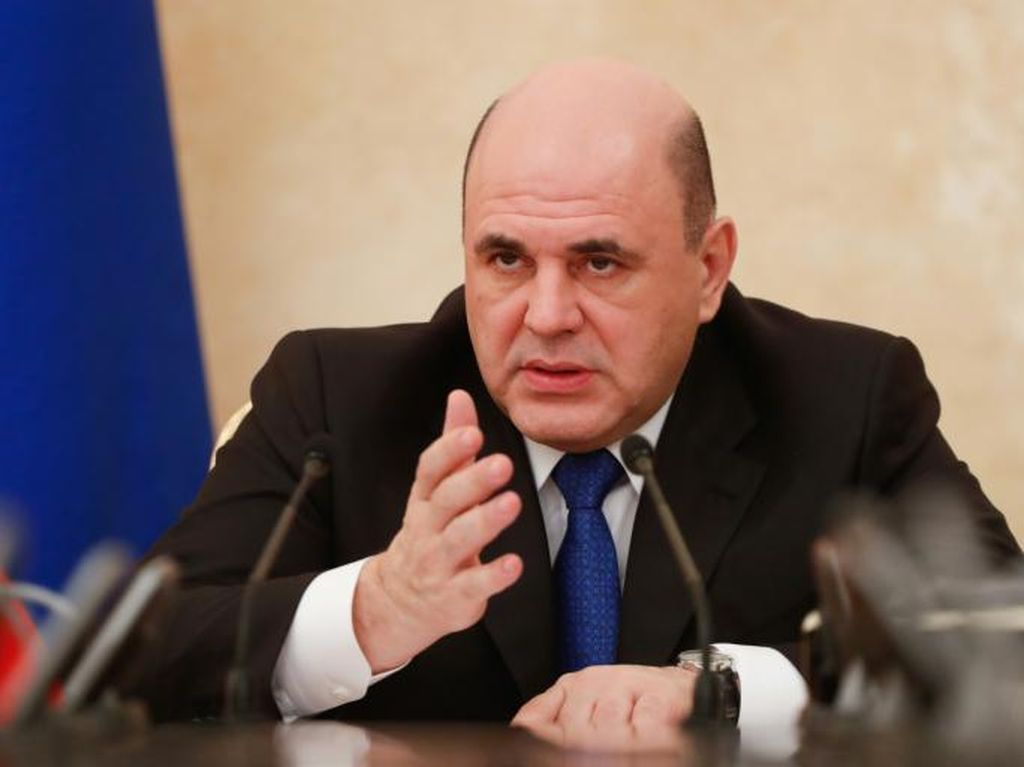 Perdana Menteri Rusia, Mikhail Mishustin Dinyatakan Positif Virus Corona