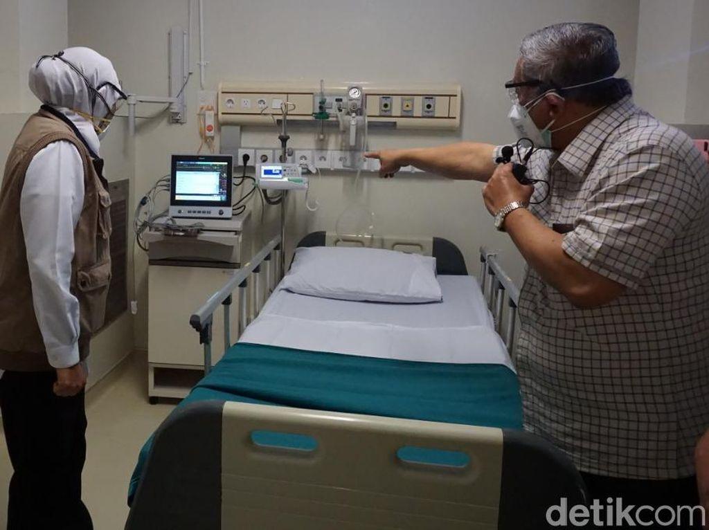 Tambah 13 Bed, Ruangan RS Unair Dipenuhi ODP, PDP hingga Positif Corona