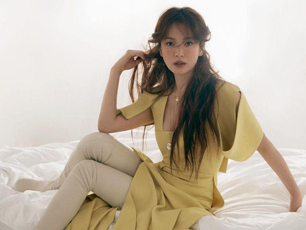 Foto: Penampilan Terbaru Song Hye Kyo yang Cantik bak Boneka