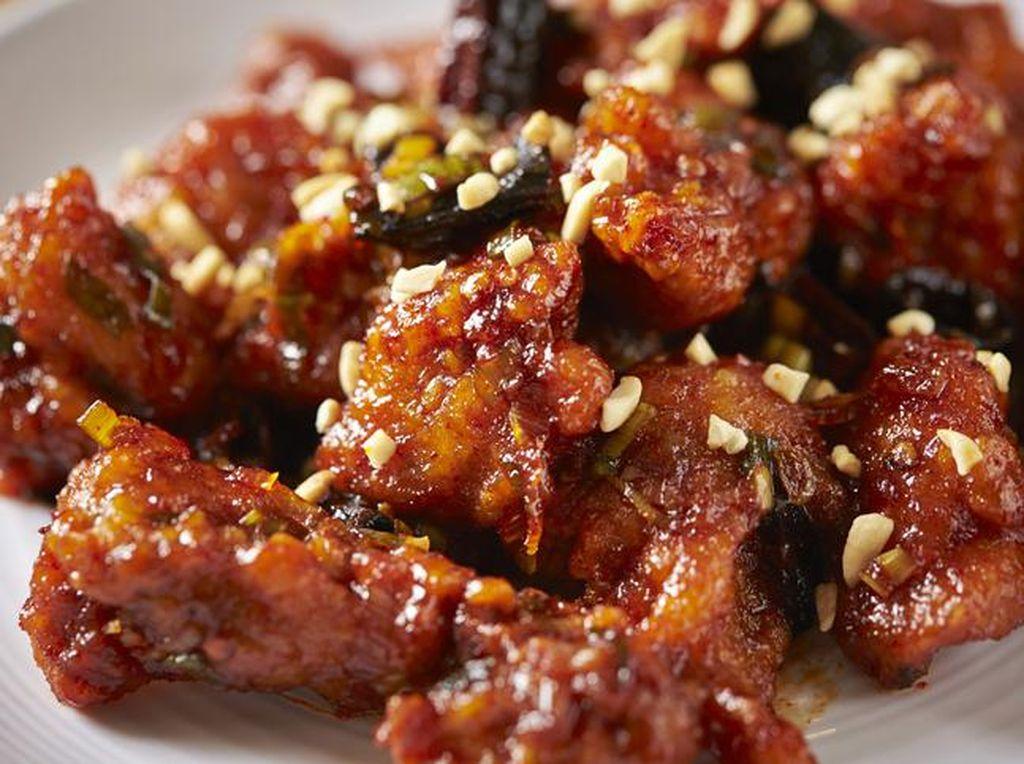 Resep Ayam Goreng Korea yang Renyah Pedas