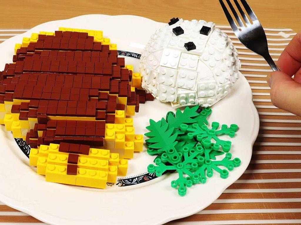 YouTuber Korea Ini Jago Masak Makanan Enak Pakai Lego