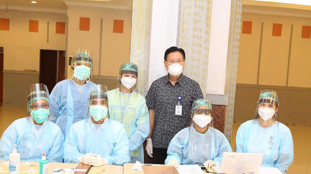 Kementerian Ketenagakerjaan Gelar 1.000 Rapid Test