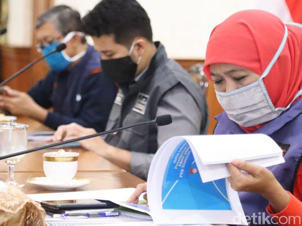 Jumlah Pasien Positif Corona di Jawa Timur Tembus 1.000 Lebih