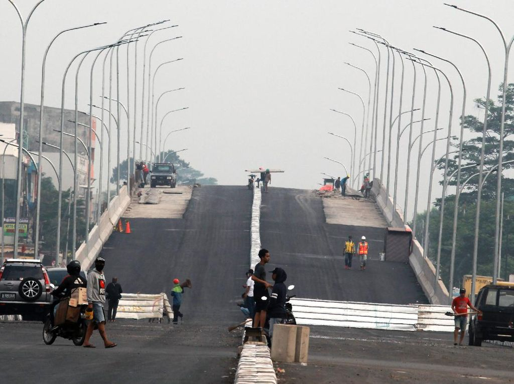 Pembangunan Fly Over Gaplek Jalan Terus