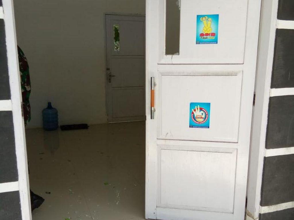 Alami Gangguan Jiwa, Pria di Polman Acungkan Sajam-Rusak Kantor Milik Pemda
