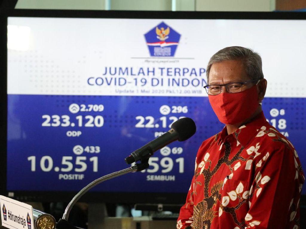 Ada 9 Provinsi Nihil Kasus Baru Corona 13 Juli: Aceh hingga Papua Barat