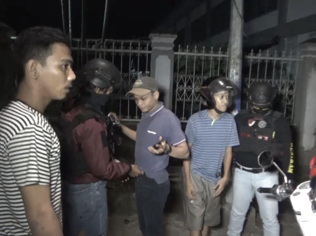 Tim Penikam Tangkap 2 Kelompok Pemuda Balap Liar di Makassar