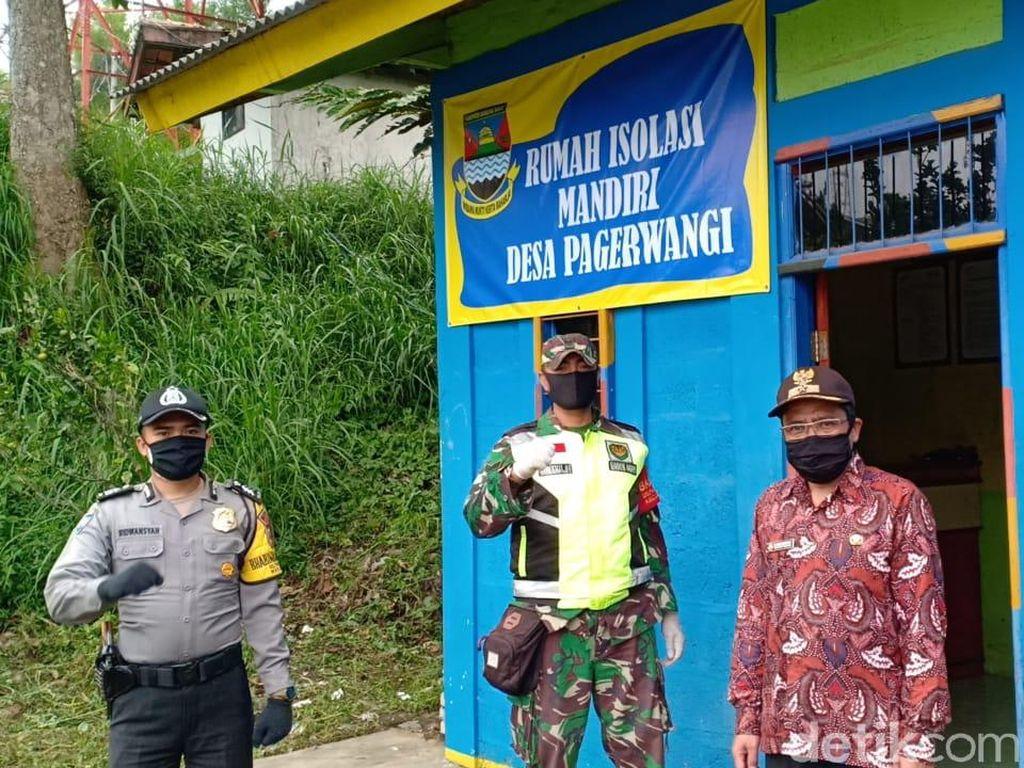 Desa di Lembang Siapkan Bangunan 4x6 Meter untuk Isolasi Darurat