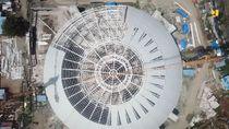 Corona Serang RI, Proyek Venue PON Papua Lanjut ke 2021