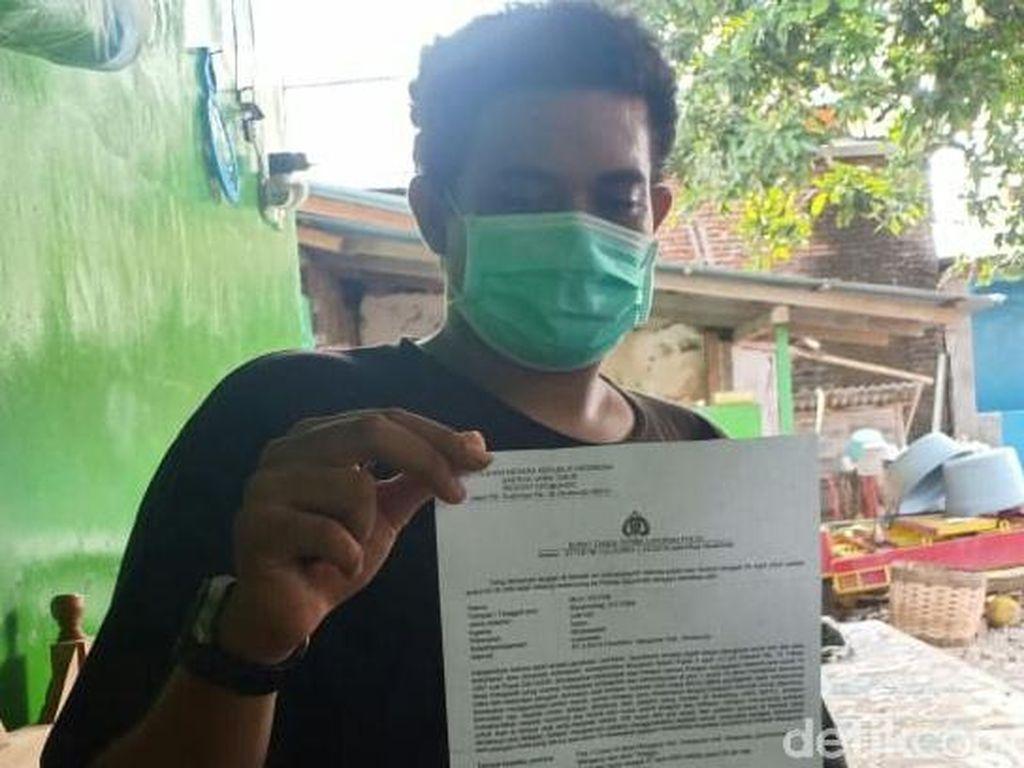 Diacungi Celurit saat Periksa Pemotor, Relawan COVID-19 Ini Lapor Polisi