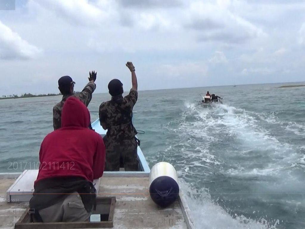 KKP Tangkap 3 Pelaku Pengeboman Ikan di Boltim Sulawesi Utara