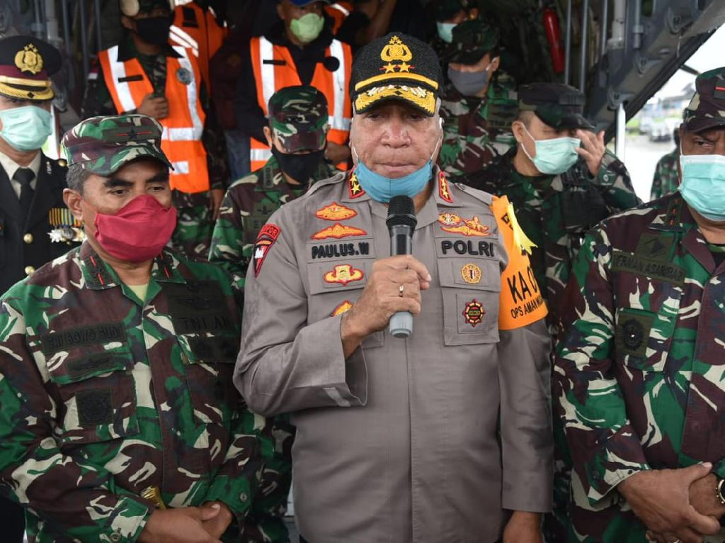 Kapolda-Pangdam Cenderawasih Pimpin Operasi Penegakan Hukum di Papua