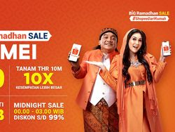 Besok! Belanja Lebih Murah di Promo Puncak Shopee Big Ramadhan Sale