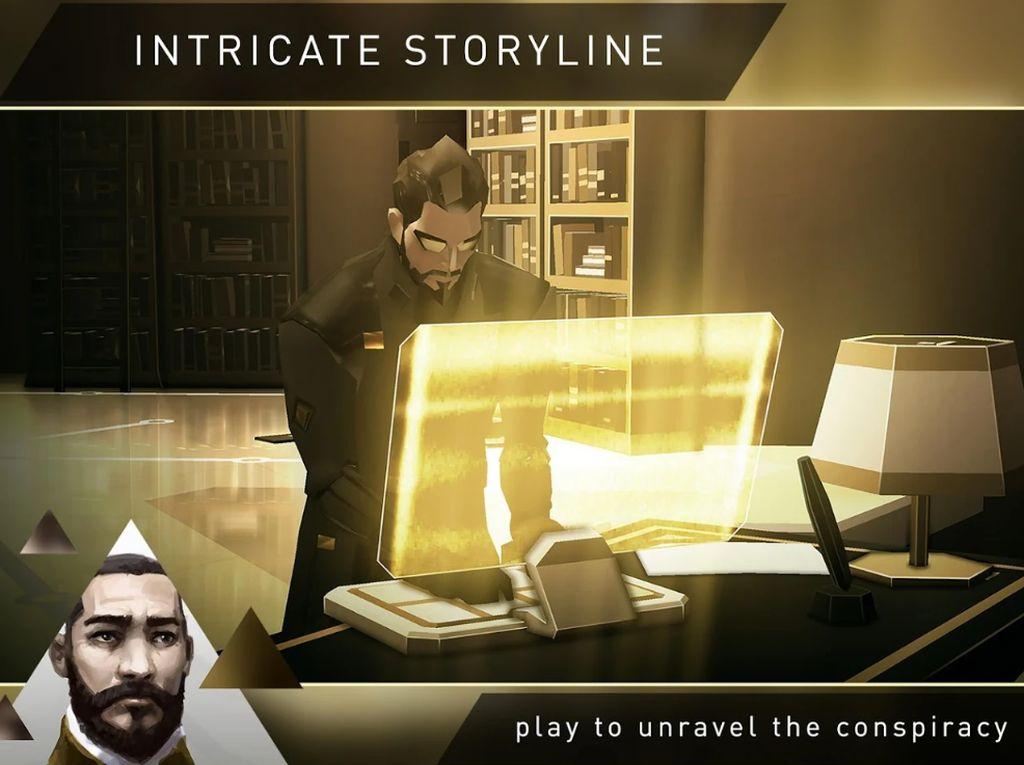 Square Enix Gratiskan Deus Ex Go di Android dan iOS