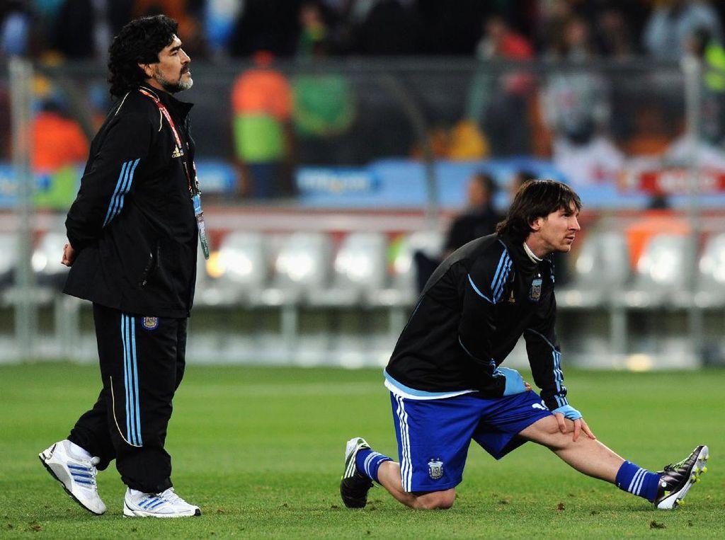 Lionel Messi Itu Manusia, Maradona Alien?