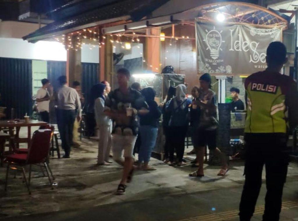 Polisi Sukabumi Bubarkan Warga Nongkrong hingga Balapan Liar