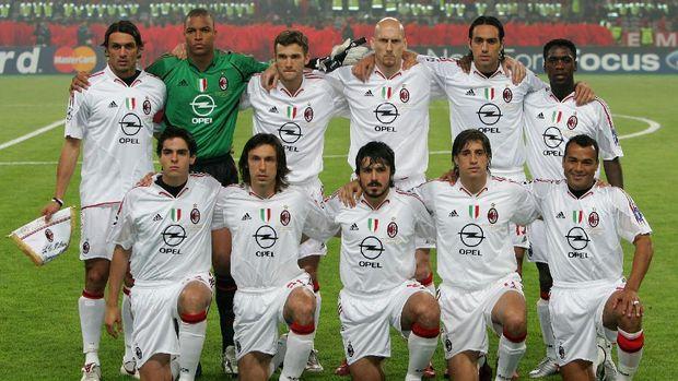 Skuat AC Milan di babak final Liga Champions 2005