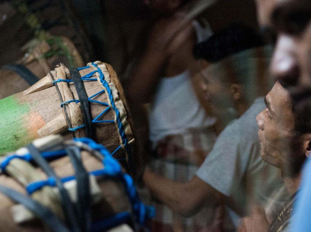Begini Tradisi Tabeuh Bedug di Banten