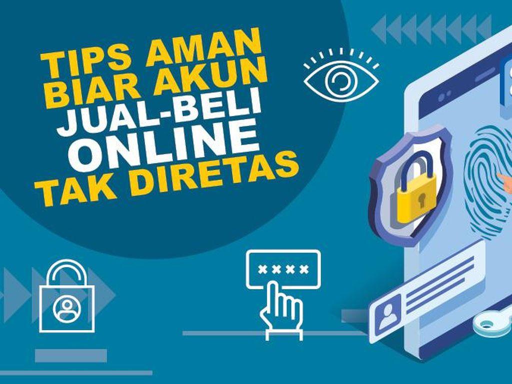 Tips Aman Biar Akun Jual Beli Online Tak Diretas