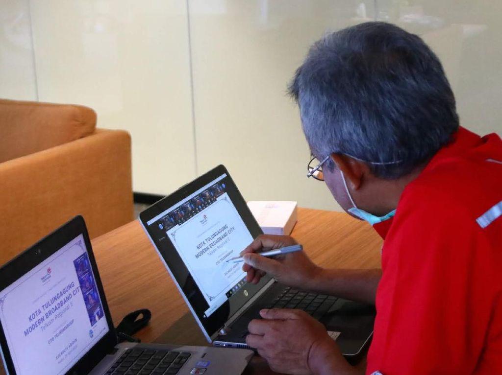 Kediri dan Tulungagung Jadi Modern Broadband City