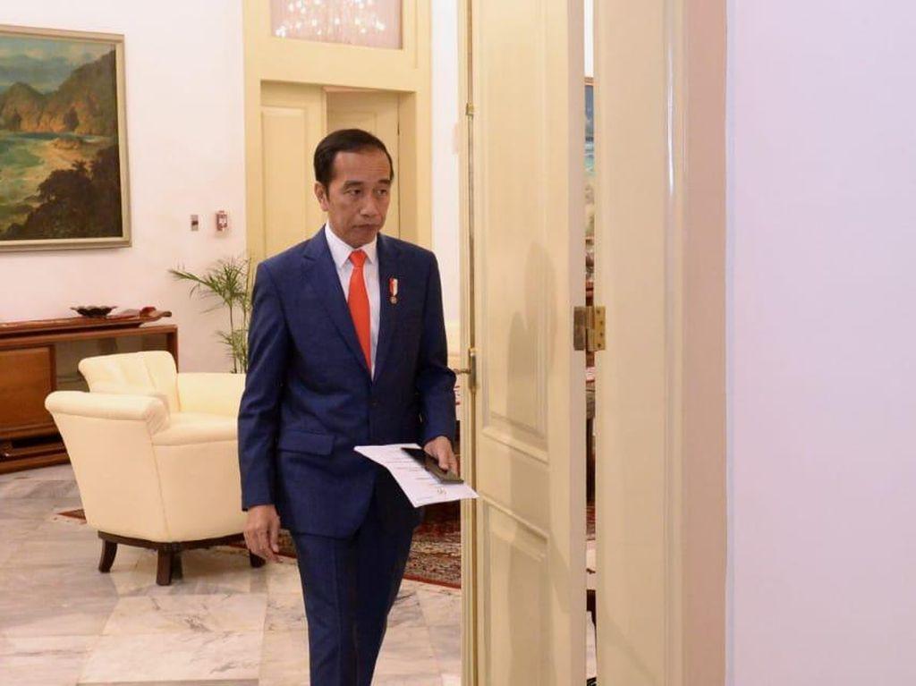 Saat Pengrajin Kayu Asal Bali Ngeluh ke Jokowi Omzetnya Turun 50%