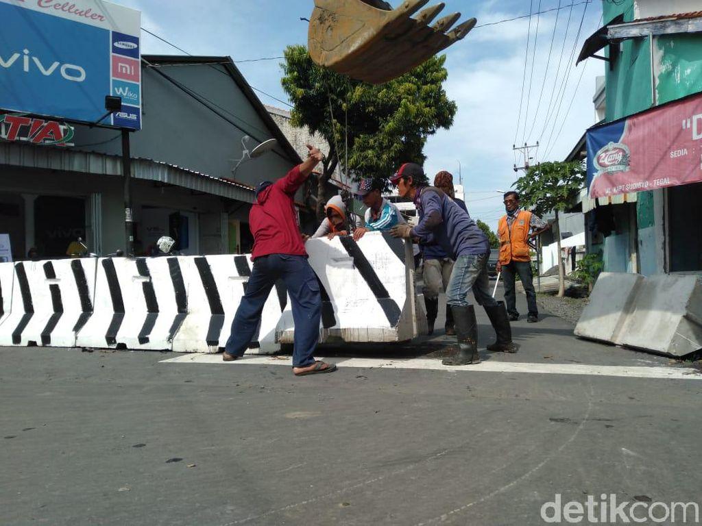 Beberapa Jalan di Tegal yang Ditutup karena PSBB Bakal Dibuka Jelang Lebaran