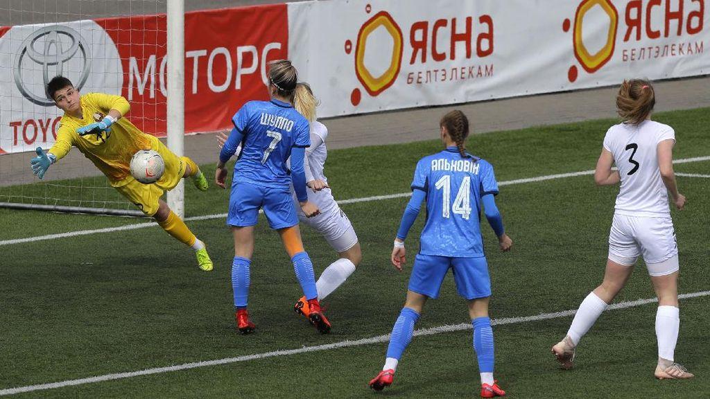 Prittt! Liga Putri Belarusia Sudah Kickoff Lagi
