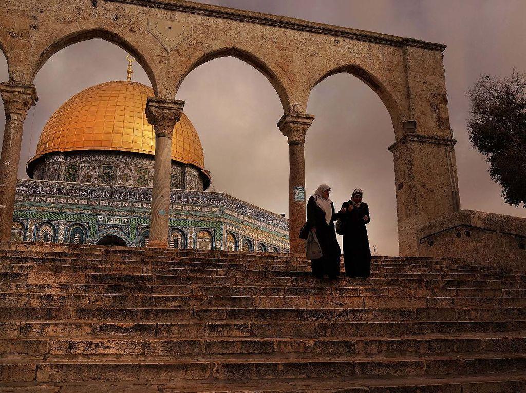 Israel Kembali Izinkan Warga Yahudi Kunjungi Situs Suci Yerusalem