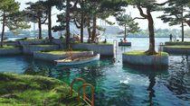 Taman Terapung Cantik di Denmark
