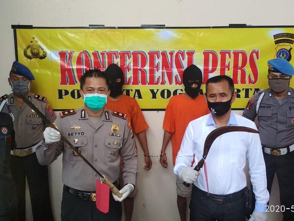 Berulah Lagi Todong Warga, 2 Napi Asimilasi Diciduk Polisi Yogya