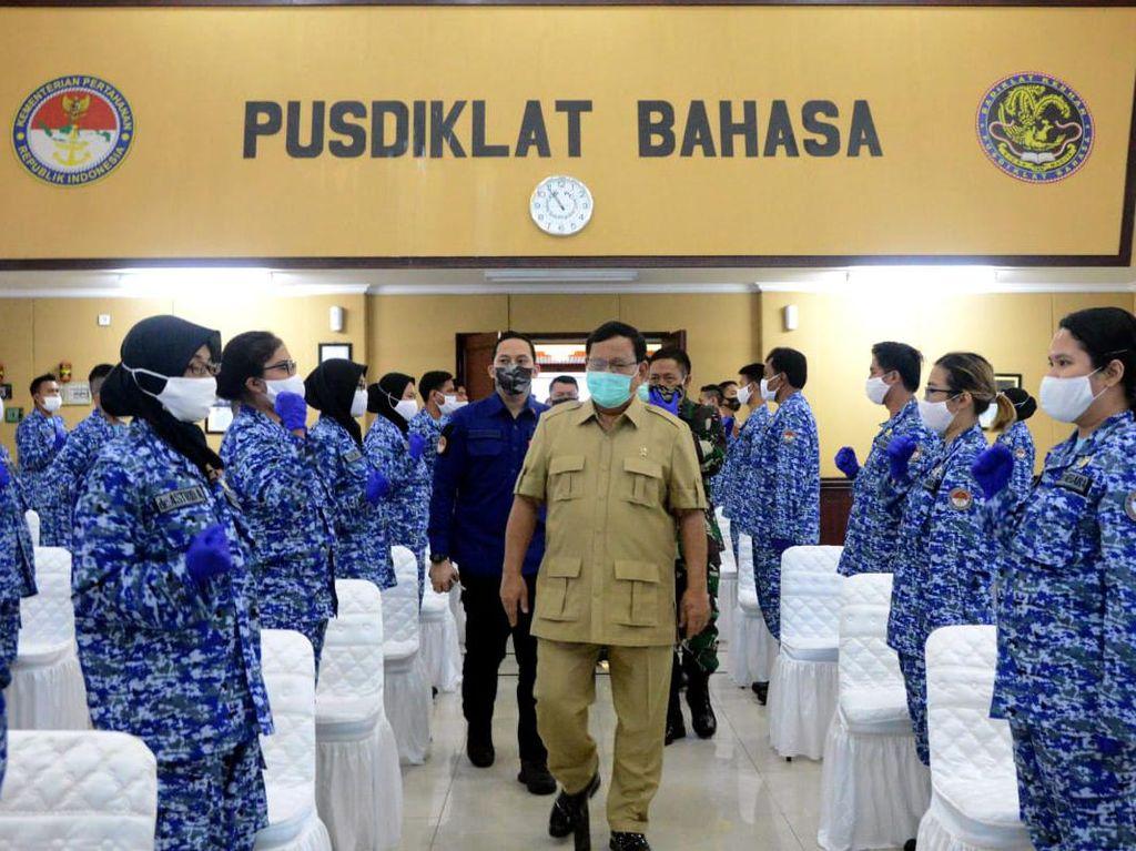 Prabowo Bentuk Komponen Pendukung Pertahanan Negara Bidang Kesehatan