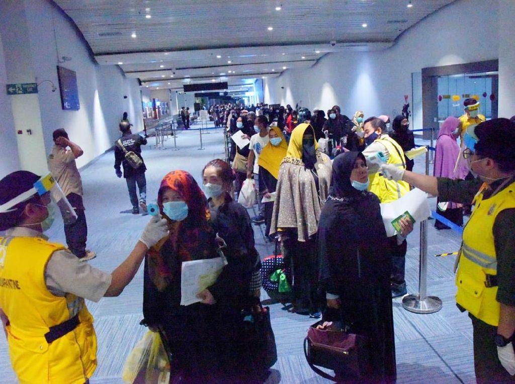 Lakukan Karantina, BPSDM Jabar Jamin Kebutuhan 86 Warga TKI dari Cimahi