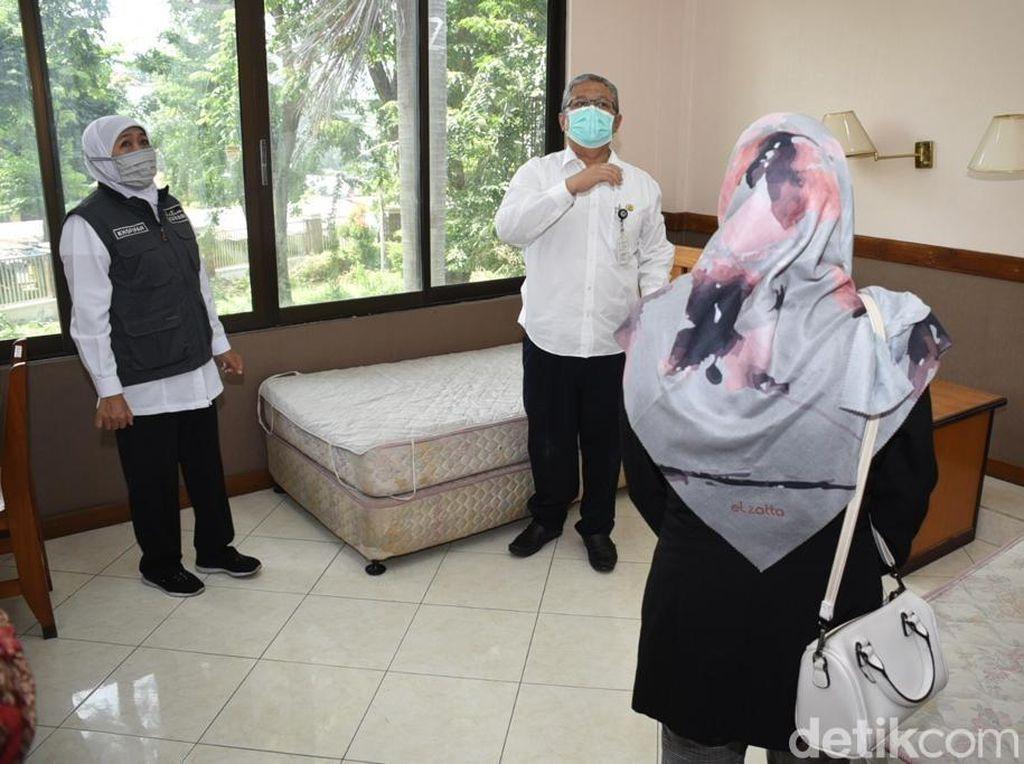 1.124 Positif COVID-19 di Jatim, Pemprov Siapkan RS Darurat Khusus OTG