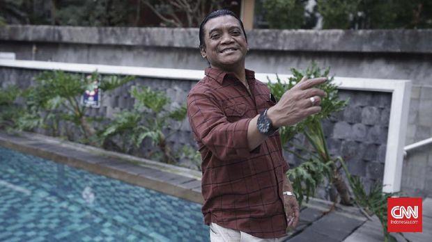 Didi Kempot meninggal dunia pada Selasa (5/5). (CNNIndonesia/Tri Wahyuni)