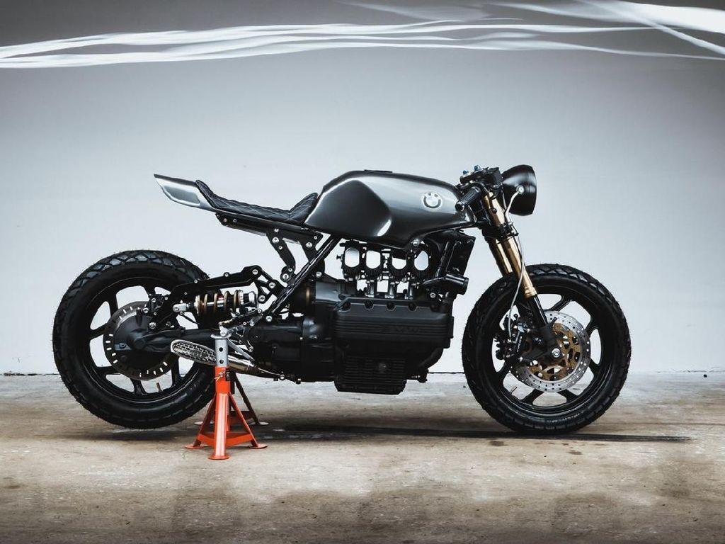 Awalnya Motor Touring, BMW K100 Ini Dimodifikasi Jadi Cafe Racer