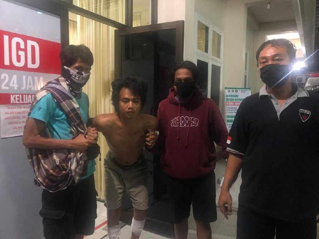 7 Bulan Kabur ke Kalimantan, Pulang ke Lombok Buron Jambret Ditangkap