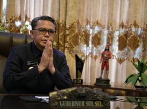 OTT KPK, Gubernur Sulsel Nurdin Abdullah Sudah Dibawa ke Jakarta